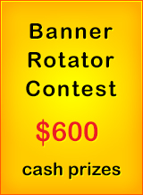 Develop a nice banner rotator and earn cash prizes, click to read more