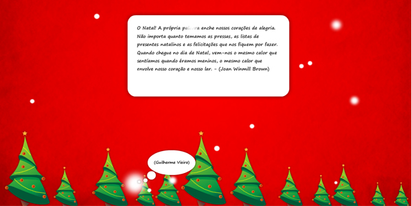 Phrases in Christmas snowflakes with XML - click for preview