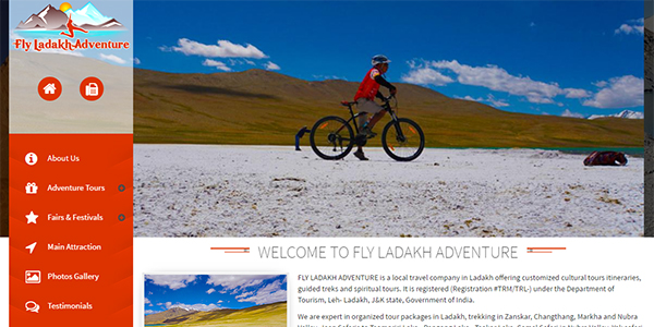 Fly Adventure Travel CMS - click for preview